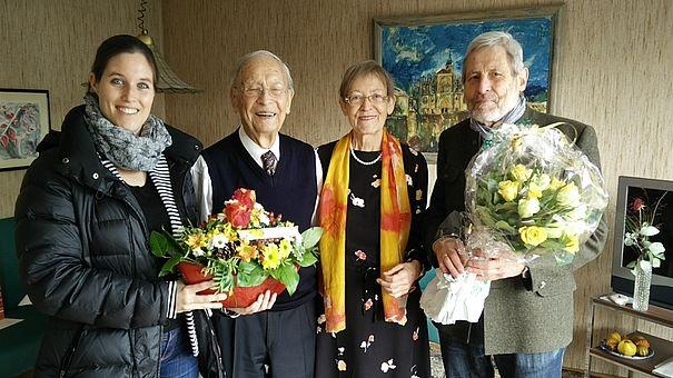 (Foto: Jennifer Becker, Dr. Adalbert Mischlewski, Johanna Mischlewski, Klemens Siebert)